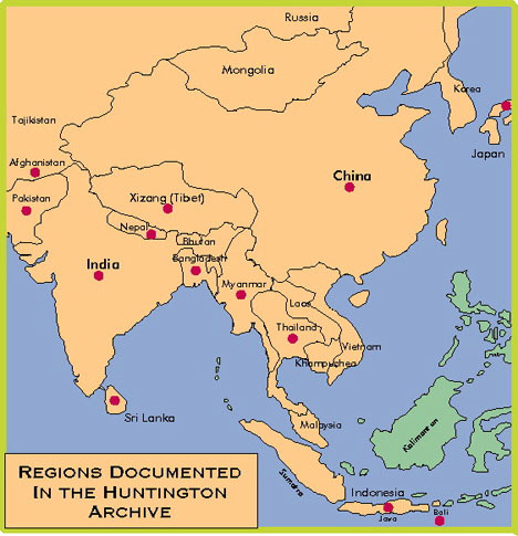 Map Of Asia With Regions.Locator Maps Of Asia By John C Huntington