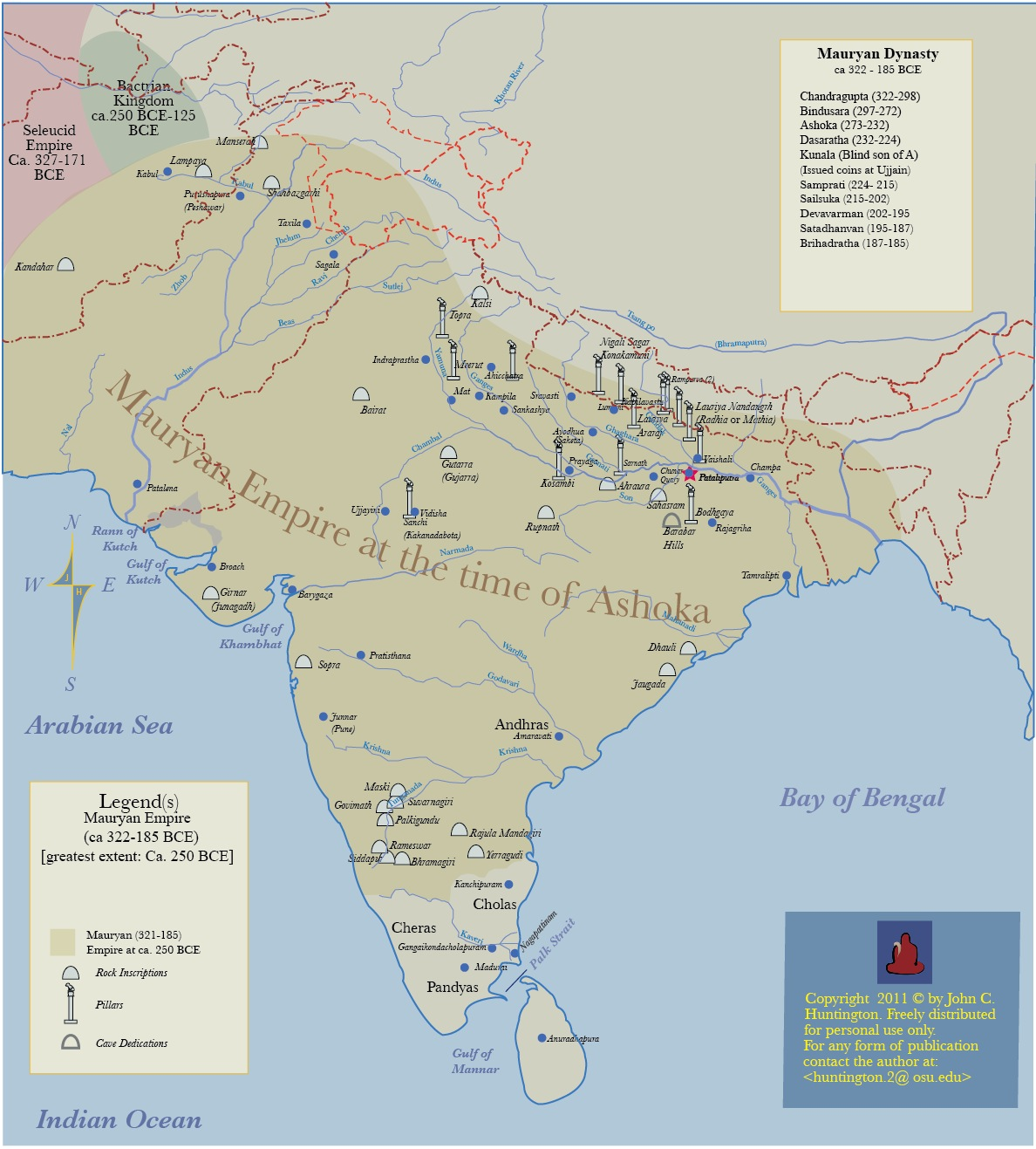 Map Of Asia Resources.Historical Maps Of Asia By John C Huntington